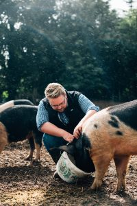 Alastair Crown Pig Farm Limavady